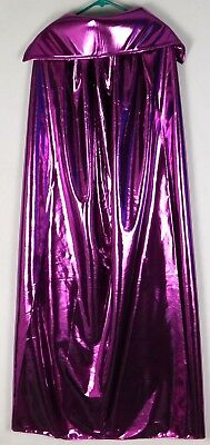 Purple Metallic Adult Wrestling Cape lucha libre wwe NEW Costume Halloween - Lucha Libre Halloween Costume