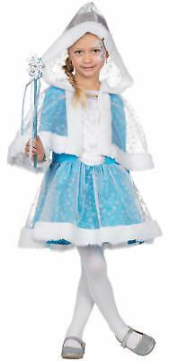 Schneeprinzessin Eiskönigin Kinder Karneval Fasching Kostüm - Kinder Schnee Prinzessin Kostüm