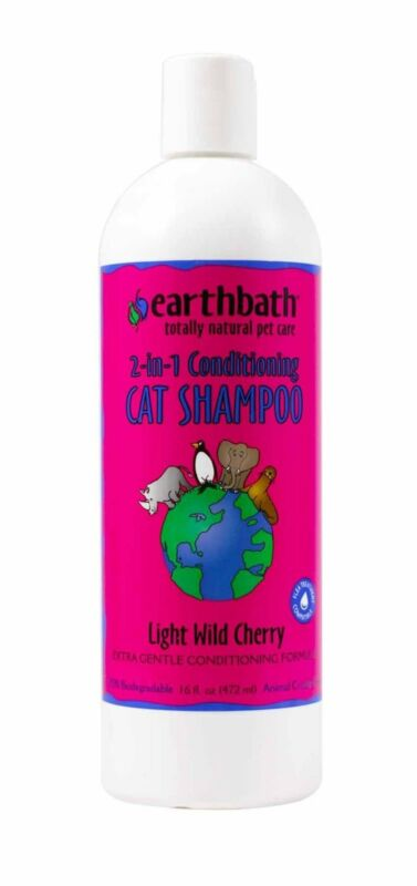 2-n-1 Conditioning Cat Shampoo Extra Gentle Conditioning Formula 16oz