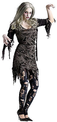 Adult Living Dead Zombie Ghost Costume