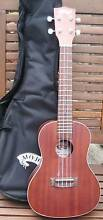 Mojo Solid Mahogany Top Electric Concert Uke with Gig Bag Burwood Whitehorse Area Preview