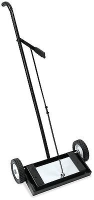 Heavy Duty Magnetic Roller Sweeper Magnet Pick Up Tool 233lb Capacity