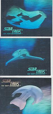Star Trek TNG Inaugural Hologram Error #031, 034, 036