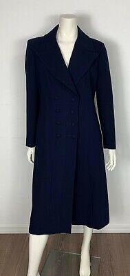 Anna Molinari cappotto donna elegante luxury tg 46 D40 F42 usato vintage T5078