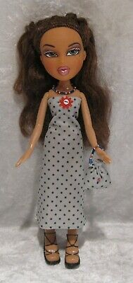 "Made to fit 9½"" BRATZ #19 Dress, Purse & Necklace Set, Handmade Doll Clothes"