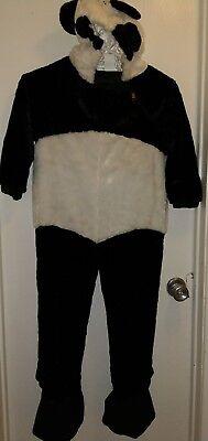 CHOSUN Kid Boy/girl Child Unisex Plush Panda Bear Costume 4-5 EUC Dress up Play ](Panda Bear Costume Kids)