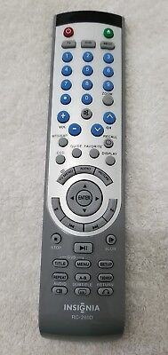 INSIGNIA RC-260D TV/DVD Combo Remote (Pre-Owned)
