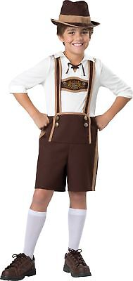 Bavarian Guy Costume Child Boys Jumpsuit With Suspender Halloween Incharacter](Halloween Costumes With Suspenders)