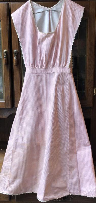 Vintage 1930s Wonen's Linen Apron