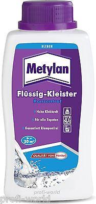 Metylan Flüssig Tapeten kleister Konzentrat 500g.