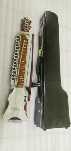 Dilruba highly professional concert quality hand made with bow wi. fiber box