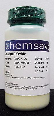 Indiumiii Oxide 99.97 Trace Metals Basis 50g