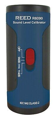 Reed Instruments R8090 Sc-05 Sound Level Calibrator 12 Diameter Microphones