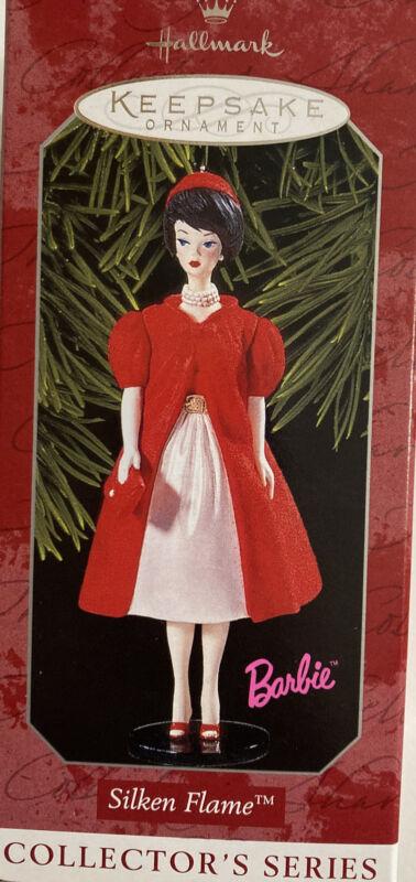 Hallmark Keepsake Ornament, Barbie Series, Silken Flame #5,  1998 NIB
