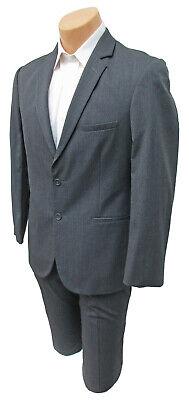 Boys Grey Suit (Boys Grey Jean Yves Suit Jacket with Pants Semi-Formal Church Wedding)
