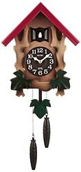 Rhythm Cuckoo Wall Clock COCKOO MELVILLE R Free Ship w/Tracking# New from Japan