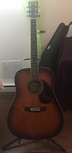 Acoustic guitar / guitare acoustique