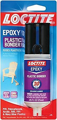 Loctite 1363118-8 Epoxy Plastic Bonder 0.85 Fl. Oz. Syringes Case Of 8