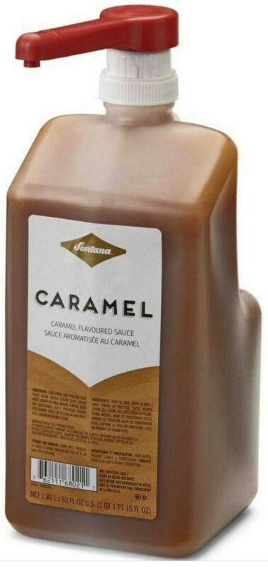 Fontana By Starbucks Caramel Sauce 63 Fl Oz. With Pump BEST BY June 6, 2021