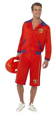 SMIFFY 32893 Baywatch Lifeguard Rettungsschwimmer Karneval Herren Kostüm Lizenz - Lifeguard Kostüm Herren