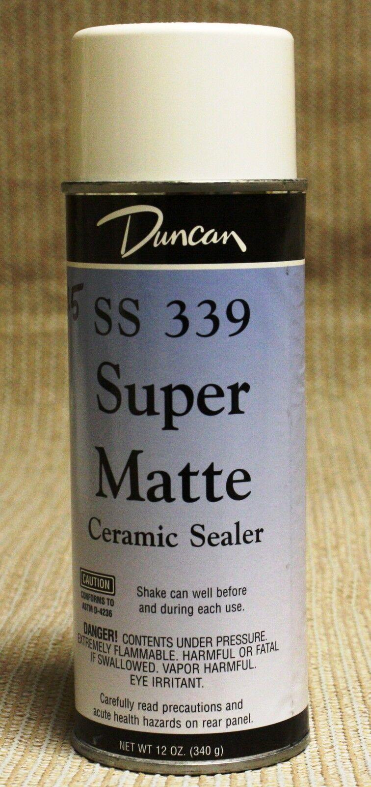 Duncan Ceramic Super Matte Spray Sealer 11oz Can Ss 339