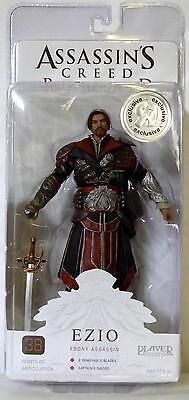 Ezio Ebony Assassin Unhooded Assassin's Creed Brotherhood 7 Figure Tru 2011