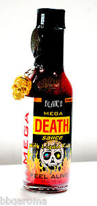 Blairs-MEGA-DEATH-Sauce-with-Liquid-Rage-FEEL-ALIVE-HOT-CHILLI-SAUCE