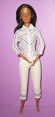 Barbie Happy Family Midge Mom Black AA Mother Neighborhood Doll for OOAK or Play