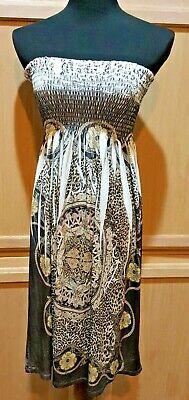 Embellished Dresses Clearance (CLEARANCE Christina Love Smock Top Stretch Jersey Embellished Slvless Dress,)