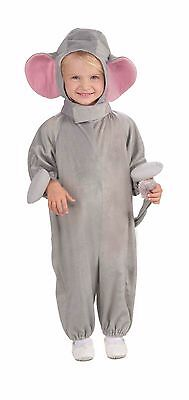 Toddler Elephant Costume Boys Child Girls Halloween Gray Jumpsuit 2T 3T 4T NEW