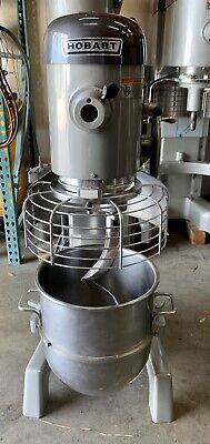 Used Hobart D340 40-quart Mixer With Guard Bowl Paddle And Hook