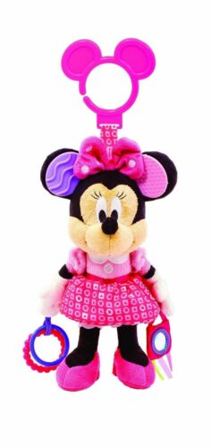 New Disney Baby Minnie Mouse On the Go Teether Activity Toy, 0+