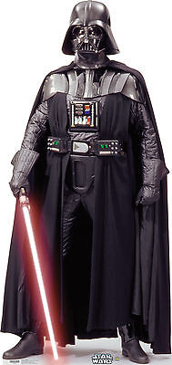 DARTH VADER(STAR WARS) LIFE SIZE STAND UP FIGURE GALAXY FILM MOVIE ROGUE ONE USA ()