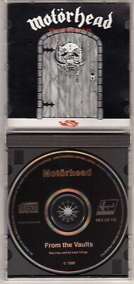 Motorhead  From The Vaults Cd Lemmy Fast Eddie Clark Rare Out Of Print