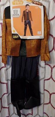 Hans Solo Costumes (Disney Star Wars Hans Solo Kids Costume Large size 13-14 Rubies Dress)