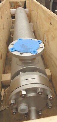25 Sq. Ft. Stainless Steel Allegheny Bradford Shell Tube Heat Exchanger