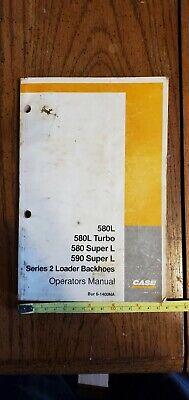 Original 1997 Case 580l 590l Series 2 Loader Backhoe Operators Manual Super Cnh