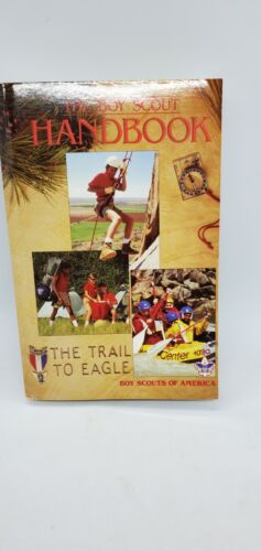 BSA THE BOY SCOUT HANDBOOK TRAIL TO EAGLE TENTH EDITION 1990