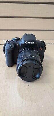 Canon EOS Rebel T6I 24.2MP Digital SLR Camera - Black