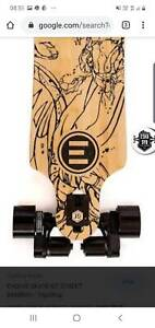 Evolve bamboo gt electric skateboard