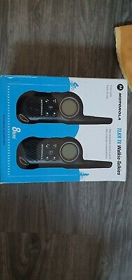 Motorola Walkie Talkie TLKR T6 High Quality 2 Way Radio System set 8Km range