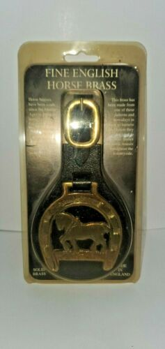 Vintage English Horse Brass Harness In Original Packaging