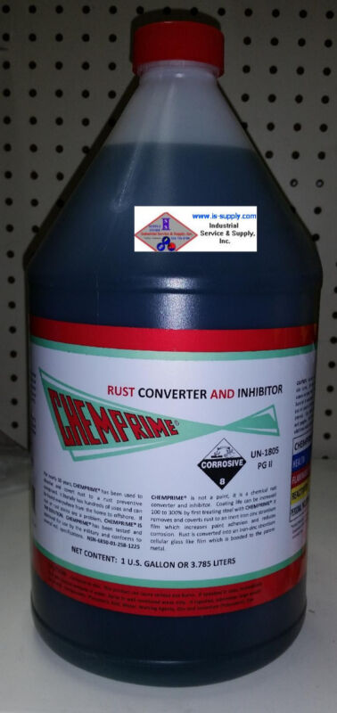 CHEMPRIME RUST INHIBITOR AND CONVERTER (gallon) rust preventative compound