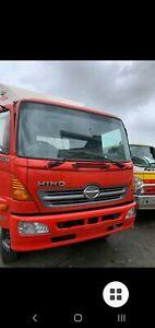 Truck for sale 2008 Hino Automatic Curtainsider