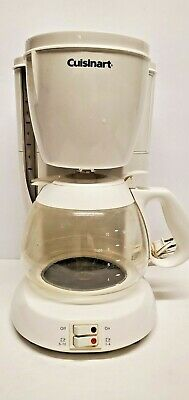Classic Cuisinart 10 Cup Coffee Maker Dcc-100