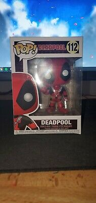 Funko POP Marvel DEADPOOL (THUMB UP) Vinyl Bobble-Head Figure #112 Collectible
