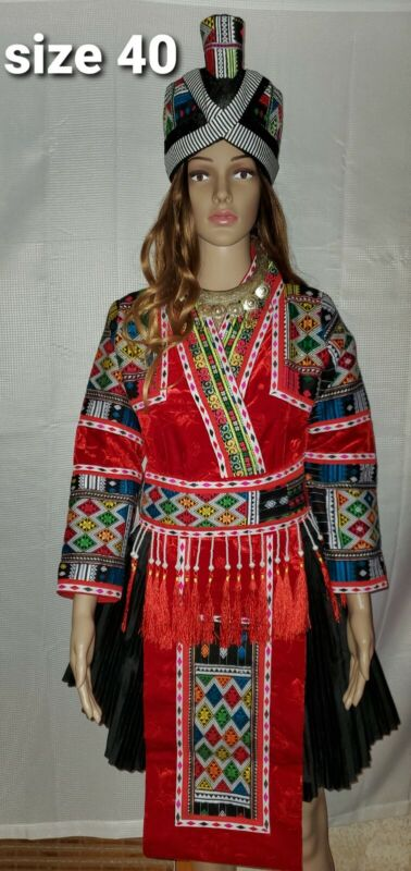 Hmong Clothes. New Hmong Cos Pajntaub  Outfit