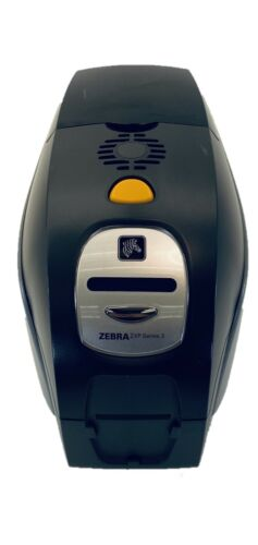 Zebra ZXP Series 3 ID Card Printer Bundle- Power Supply & USB Cable included!