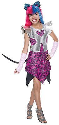 Rubies 610627 Catty Noir Kostüm Mädchen  Monster High Kostüm Größe (Mädchen Kostüm Monster High)