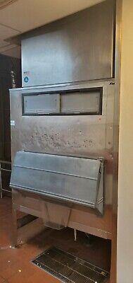 Hoshizaki Ice Maker - Km-2400srh3 - Crescent Ice Cuber Machine W Bin - 2321 Lbs